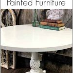 Repainting Painted Furniture Paint Over