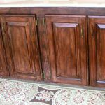 Restaining Kitchen Cabinets Gel Stain Methods Applying Layers Interior Exterior