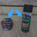 Review Chalkboard Paint Tape