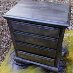 Ridiculously Awesome Shabby Chic Furniture Makeover Using Krylon Looking Glass