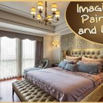 Riot Colors Fabulous Bedroom Wall Painting