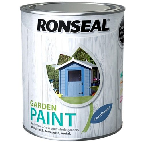 Ronseal Outdoor Garden Paint Various Colours Exterior Wood Metal Stone Brick