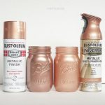 Rose Gold Spray Paint Decor Pinterest Painting Craft