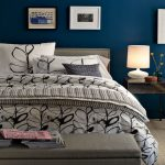 Royal Blue Painted Bed Room Light Bedroom Paint