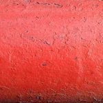 Rugged Red Painted Metal Texture