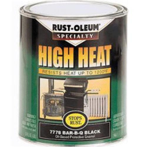 Rust Oleum Based Appliance Quart Black