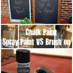 Rust Oleum Chalkboard Spray Paint Reviews Home