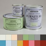 Rust Oleum Chalky Finish Furniture Paint Decorating Range Finishing Wax