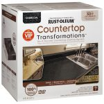 Rust Oleum Charcoal Countertop Transformation Kit Bunnings