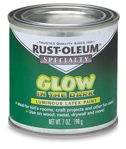 Rust Oleum Glow Dark Brush Paint Blick Art