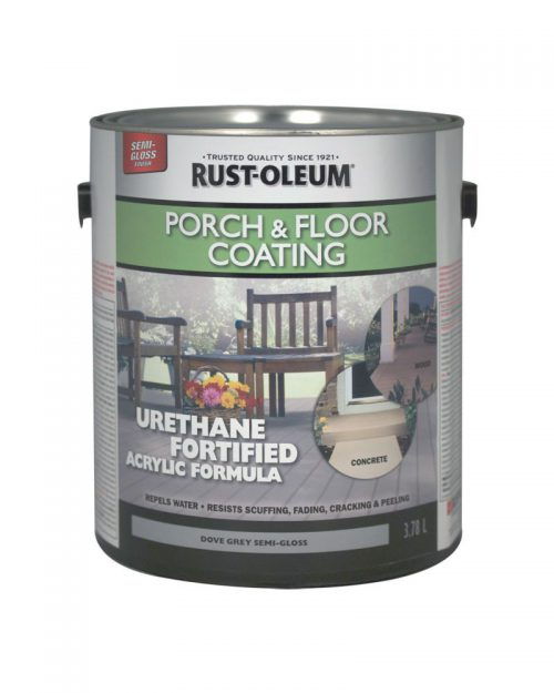 Rust Oleum Porch Floor Coating Semi Gloss Tint Base Canada