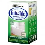 Rust Oleum Specialty Almond Tub Tile Refinishing Kit Home