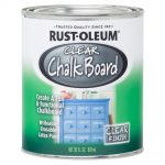 Rust Oleum Specialty Clear Chalkboard Paint Case Home