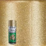 Rust Oleum Specialty Gold Glitter Spray Paint Home