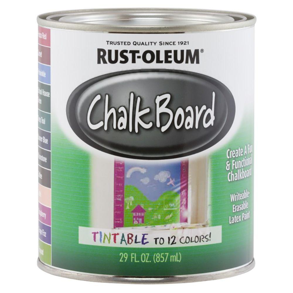 Rust Oleum Specialty Tintable Chalkboard Paint Home