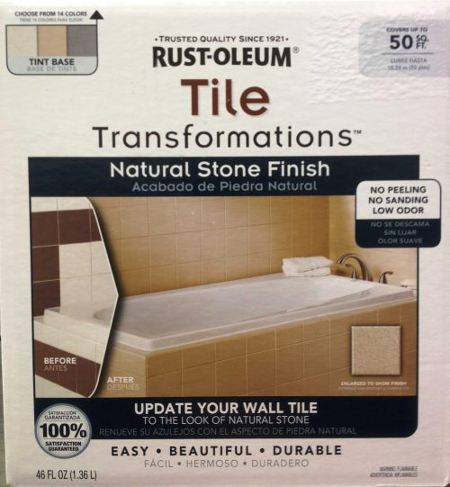 Rust Oleum Tile Transformations Home Depot