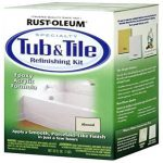 Rust Oleum Tub Tile Refinishing Part Kit Almond Prepare Paint Sur