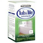 Rust Oleum Tub Tile Refinishing Part Kit White Repairs Porcelain