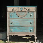 Rustic Chic Finish Dresser Vanity