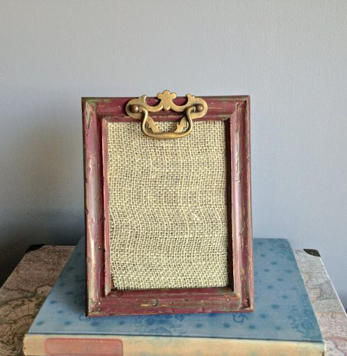 Rustic Distressed Wood Frame