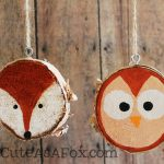Rustic Hand Painted Woodland Creature