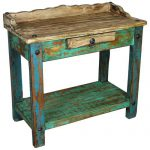 Rustic Painted Wood Mexican