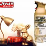 Rustoleum Metallic Pure Gold Spray Paint Aerosol Can Rust Oleum All Purpose
