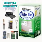 Rustoleum Rust Oleum Tub Tile Refinishing Complete Value Pack Bath Paint