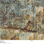 Rusty Metal Surface Old Paint