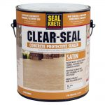 Seal Krete Gal Satin Clear Concrete Protective Sealer Home