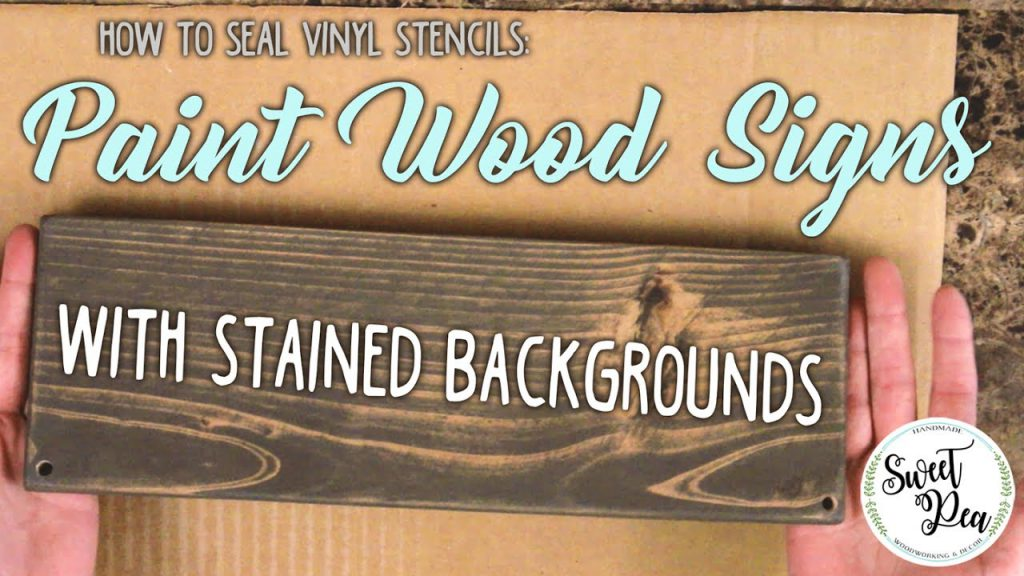 Seal Wood Signs Painted Check Out Video Https