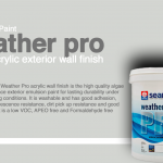 Seamaster Paint Weather Pro Acrylic Exterior Wall