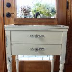 Sewing Cabinet Side Table Paint Furniture