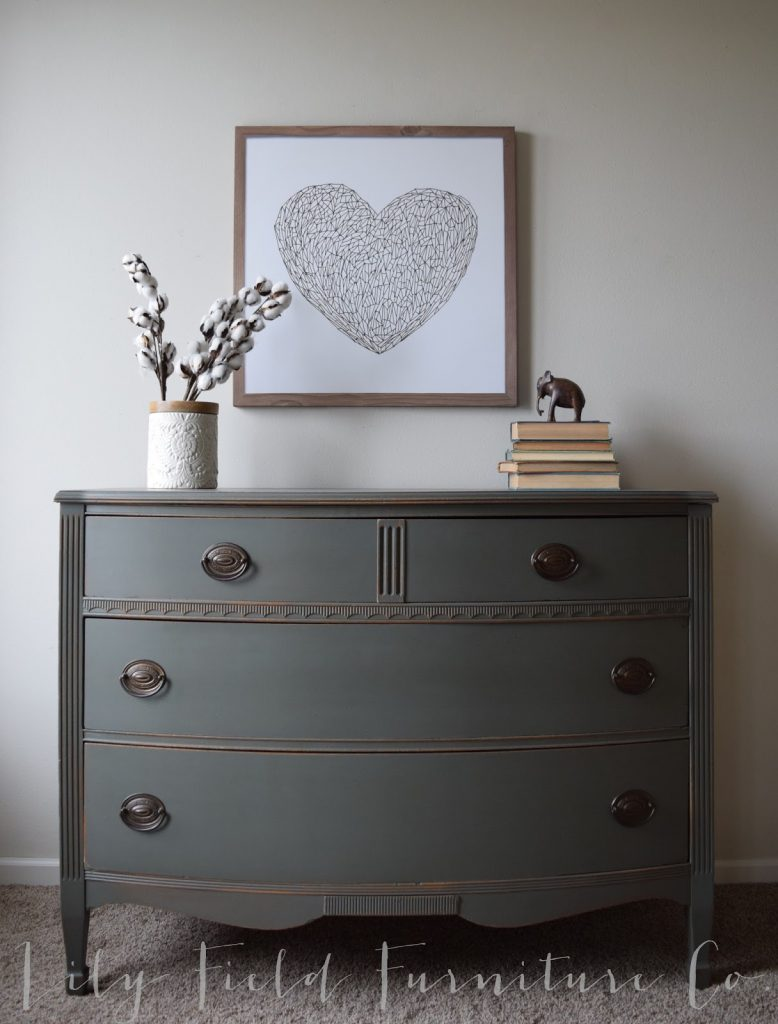 Sherwin Williams Cast Iron Dresser Color Matched Country Chic Chalk Paint Lily