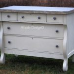 Shizzle Design Empire Dresser Refinished Old White Chalk