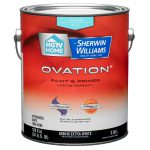 Shop Hgtv Home Sherwin Williams Ovation White Flat Latex Interior Paint Primer