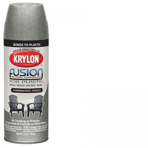 Shop Krylon Silver Hammered Flat Spray Paint