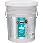 Shop Olympic One Tintable Satin Latex Enamel Interior Paint Primer