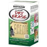 Shop Rust Oleum Clear Gloss Dry Erase Paint Actual Contents
