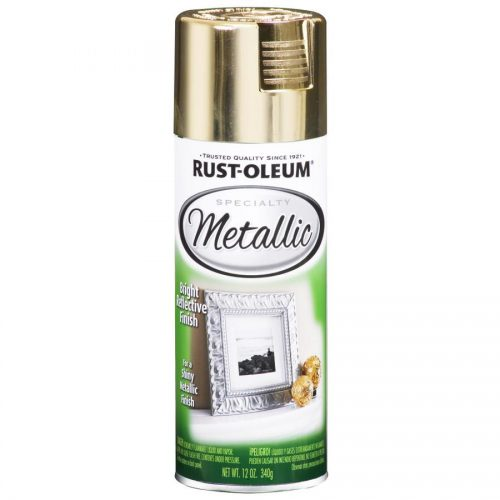 Shop Rust Oleum Specialty Gold Metallic General Purpose Spray Paint Actual