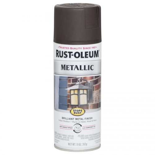 Shop Rust Oleum Stops General Purpose Gloss Oil Rubbed Bronze Metallic Spray Paint