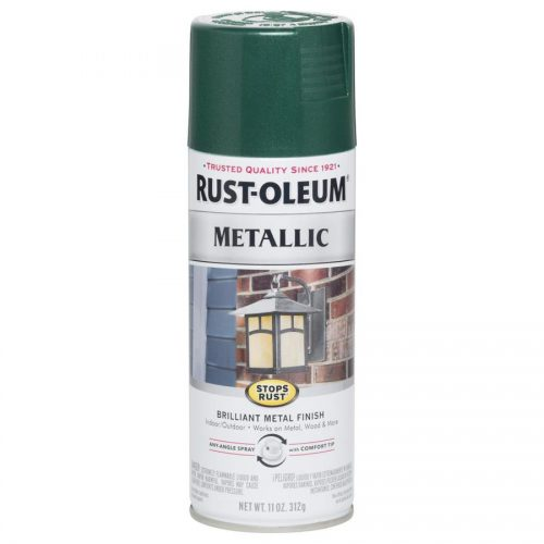 Shop Rust Oleum Stops Racing Green Metallic Spray Paint Actual