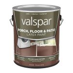 Shop Valspar Brownstone Satin Interior Exterior Porch Floor Paint Actual