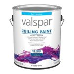 Shop Valspar Ceiling Flat White Latex Paint Actual Contents