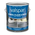 Shop Valspar Dark Gray Gloss Interior Exterior Porch Floor Paint Actual