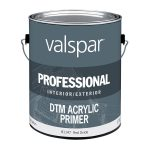Shop Valspar Direct Metal Flat Red Latex Interior Exterior Paint Actual