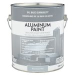 Shop Valspar Heavy Duty Aluminum Satin Oil Based Exterior Paint Actual