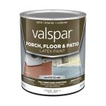 Shop Valspar Porch Floor Satin Interior Exterior Paint Actual