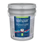 Shop Valspar Signature Satin Latex Paint Primer One Actual