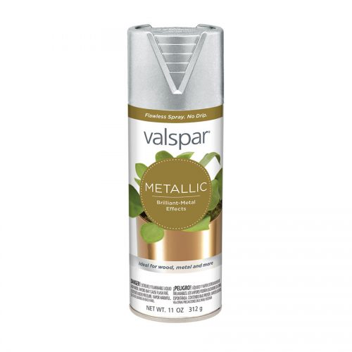 Shop Valspar Silver Metallic General Purpose Spray Paint Actual Contents